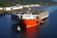Nation's Largest Floating Drydock Arrives In Portland – Photos