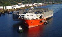 Nation's Largest Floating Drydock Arrives In Portland – Photos