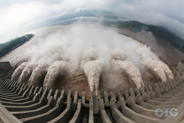 three river gorges dam