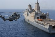 Marine Corps Helicopter Crashes In Gulf of Aden While Landing Aboard Navy Ship