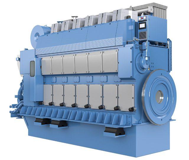 Rolls-Royce Bergen B33.45 propulsion engine