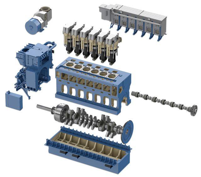 bergen b33.45 engine