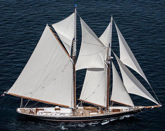 columbia eastern shipbuilding sailing yacht