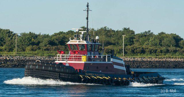 mcallister tugboat cape cod canal