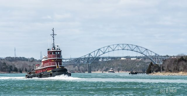 mcallister towing cape cod canal