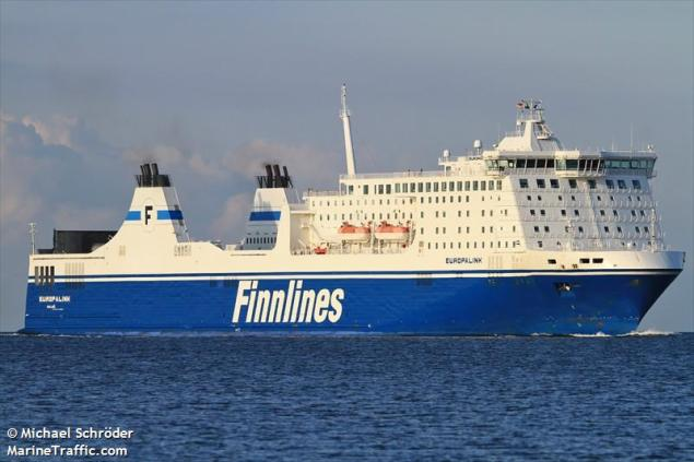 File photo shows M/F Europalink, formerly part of  the Finnlines fleet. Photo (c) MarineTraffic