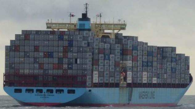 Svendborg Maersk Laden