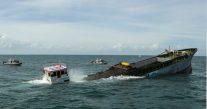 SPOTD: Japanese-Built Merchant Vessel Sunk Off Texas