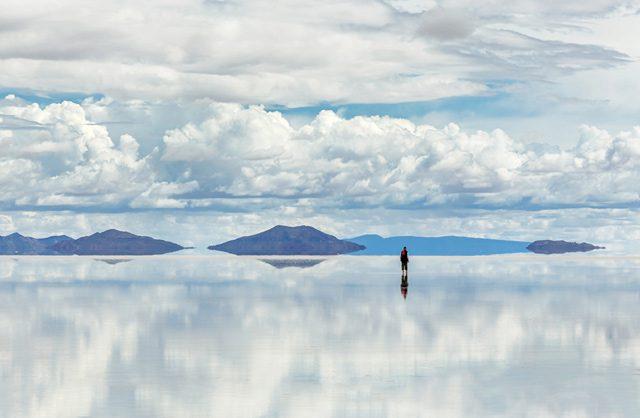 salt flat Altiplano salar de uyuni Bolivia