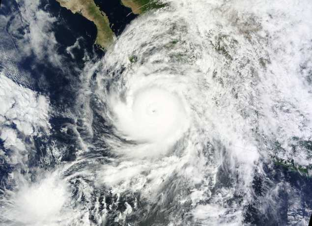 Hurricane Odile pictured September 14, 2014. REUTERS/NASA/Handout via Reuters
