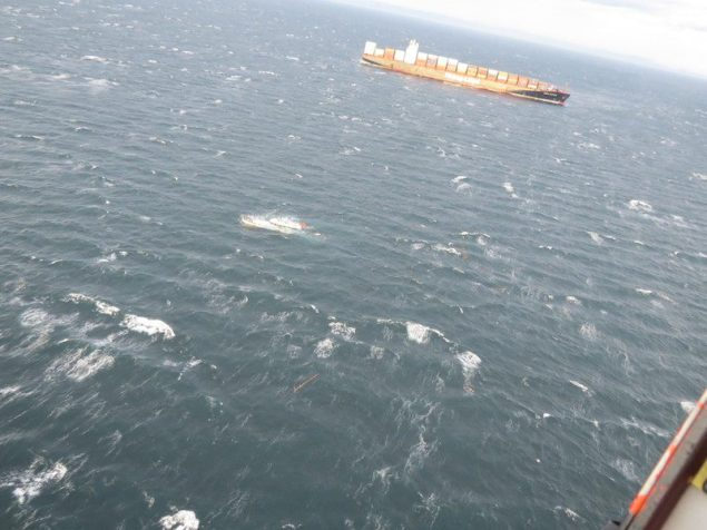 Coast Guard rescues two people from vessel taking on water near Sequim, Washington
