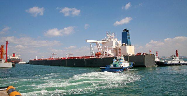 crude oil terminal tanker