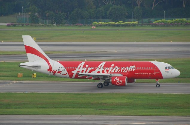 File photo shows an AirAsia A320-216. Photo: Wikimedia Commons