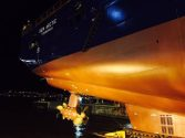 Night Launch at Kleven Verft