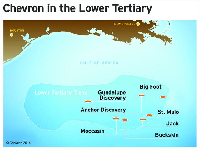 chevron gulf of mexico lower tertiary