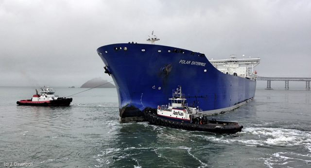 Polar enterprise conocophillips tanker
