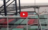Video: Aboard the Mighty CSCL Globe in Felixstowe – ShippingTV