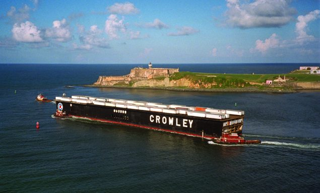Photo courtesy Crowley Maritime Corporation