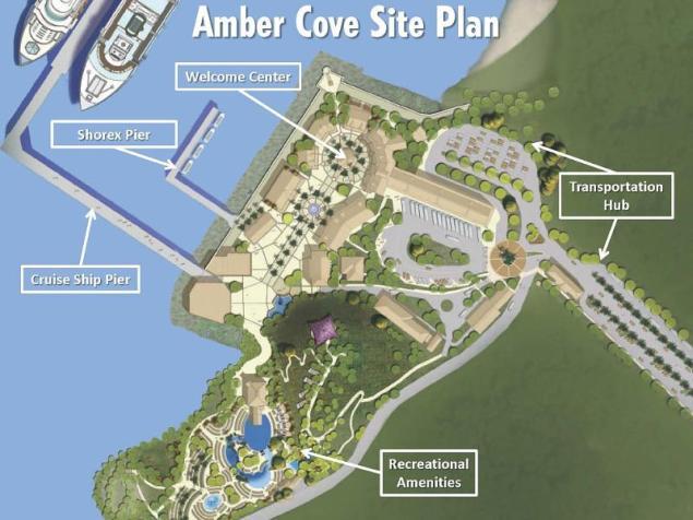 Carnival Corporation Amber Cove Port
