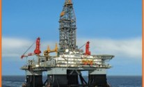 ENSCO Drilling Rig Catches Fire