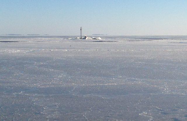 chesapeake bay ice