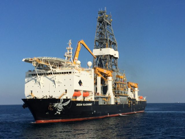 diamond offshore drilling ocean blackhornet
