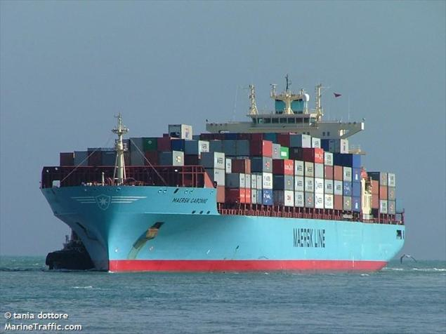 Maersk Garonne file photo (c) MarineTraffic/