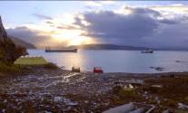 Lysblink Seaways Floats Off Scottish Shore