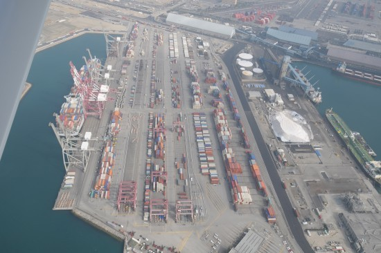 Terminal-space-by-ILWU-longshore-workers-Rollo-Hartstrom-and-Bill-Kirk-550x366