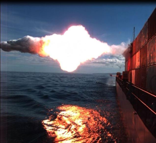 tomahawk missile maritime target