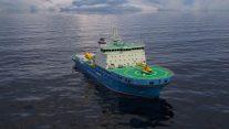 Arctech Helsinki Shipyard Launches Russian Icebreaker