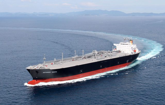 Astomos earth lpg carrier