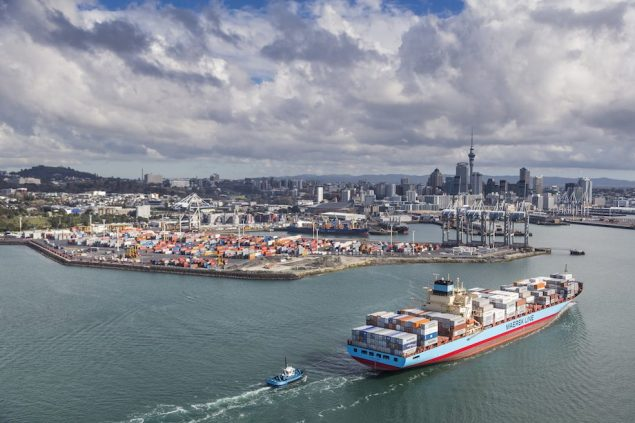 Photo: Ports of Aukland Limited