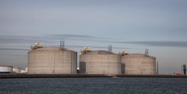 Rotterdam LNG terminal