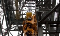 jackup rig derrick drilling