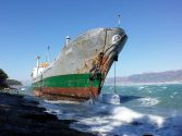High Winds Ground Cargo Ship in Split, Croatia
