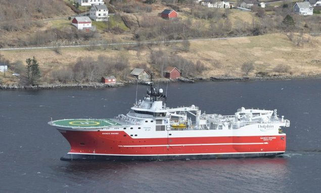 MV Sanco Sword. Photo: Dolphin Geophysical