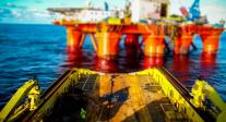 Big Boy Toys: AHTS Anchor Handling Ops Tilt-Shift Timelapse