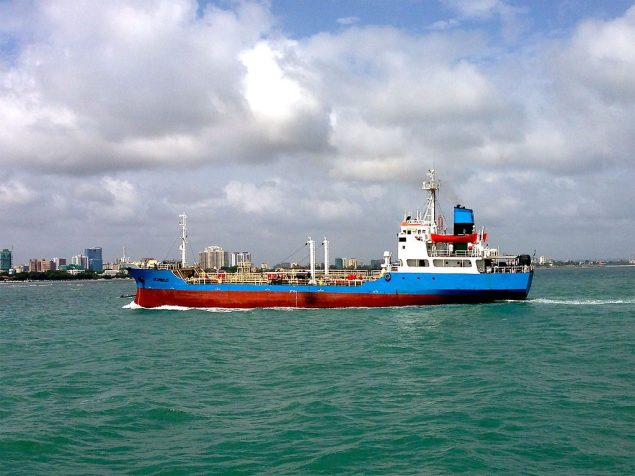 A ship departs Dar es Salaam, Tanzania's principle port. Photo: Creative Commons
