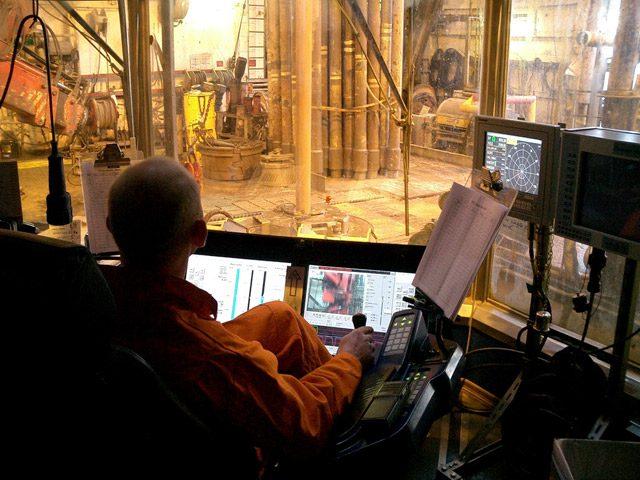 offshore drilling north sea