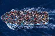 EU Launches Intel Op – Drones, Submarines to Hunt Migrant Smugglers