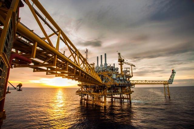offshore oil gas platform rig