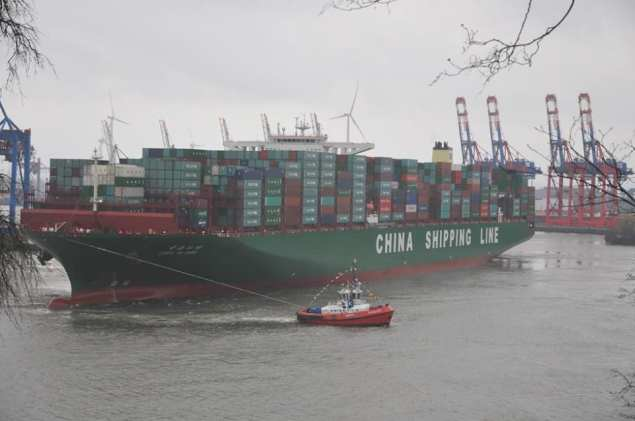 CSCL Globe file photo courtesy KOTUG