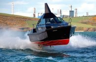 Ship Photos of the Day – 'Barracuda' Law Enforcement Vessel in Heavy Surf Sea Trials
