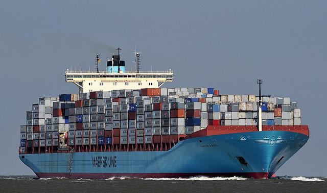 gunvor maersk containershipo