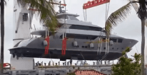 WATCH: Mega Yacht Lift Goes Horribly Wrong