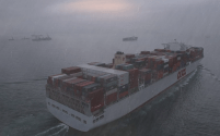 Short But Vivid 4K Footage Of 13K TEU OOCL Containership  [VIDEO]