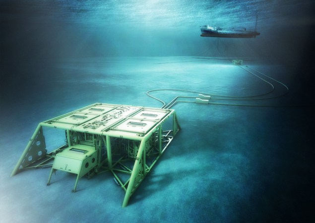 Artist renering - Subsea
