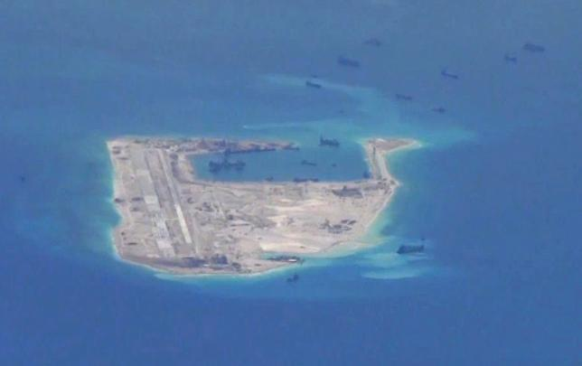 China Buildup South China Sea