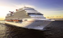 An artist's rendering of the 133,500 gross ton Carnival Vista. Photo: Creative Commons